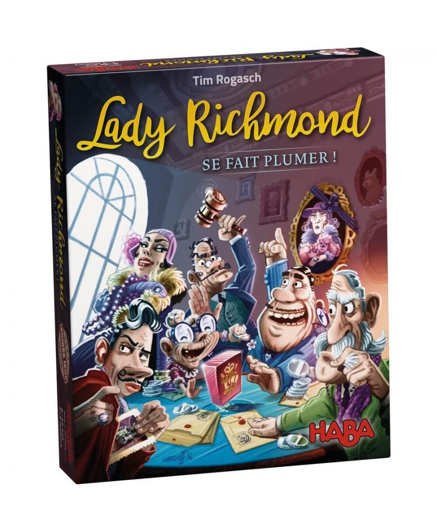 Lady Richmond se fait plumer !   Boutique Starplayer   Jeu de Société