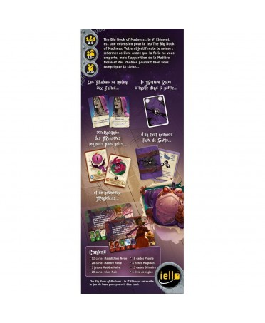 The Big Book of Madness : Le Cinquième Élément | Boutique Starplayer | Jeu de Société