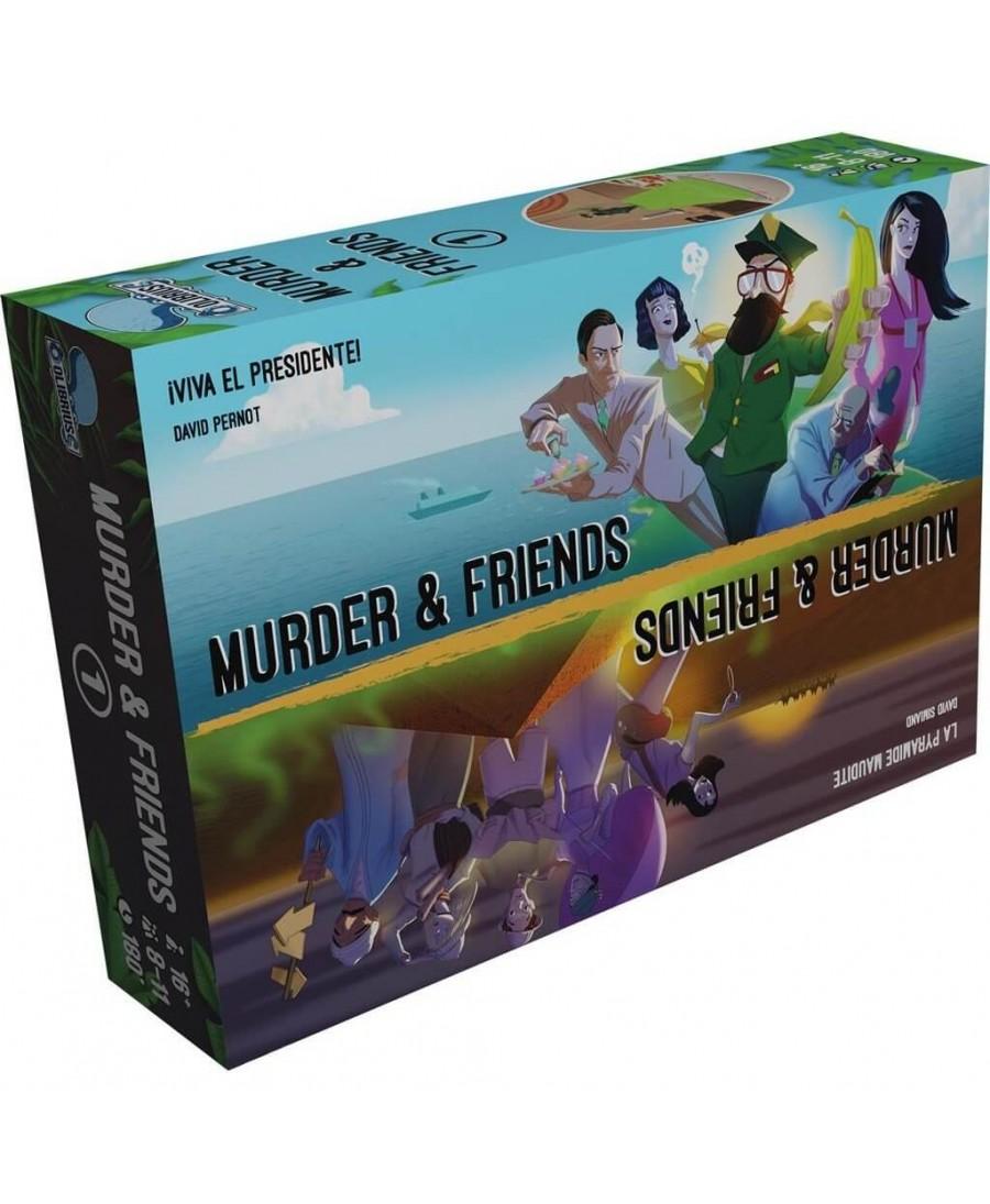 Murder & Friends (VF - 2019) | Boutique Starplayer | Jeu de Société
