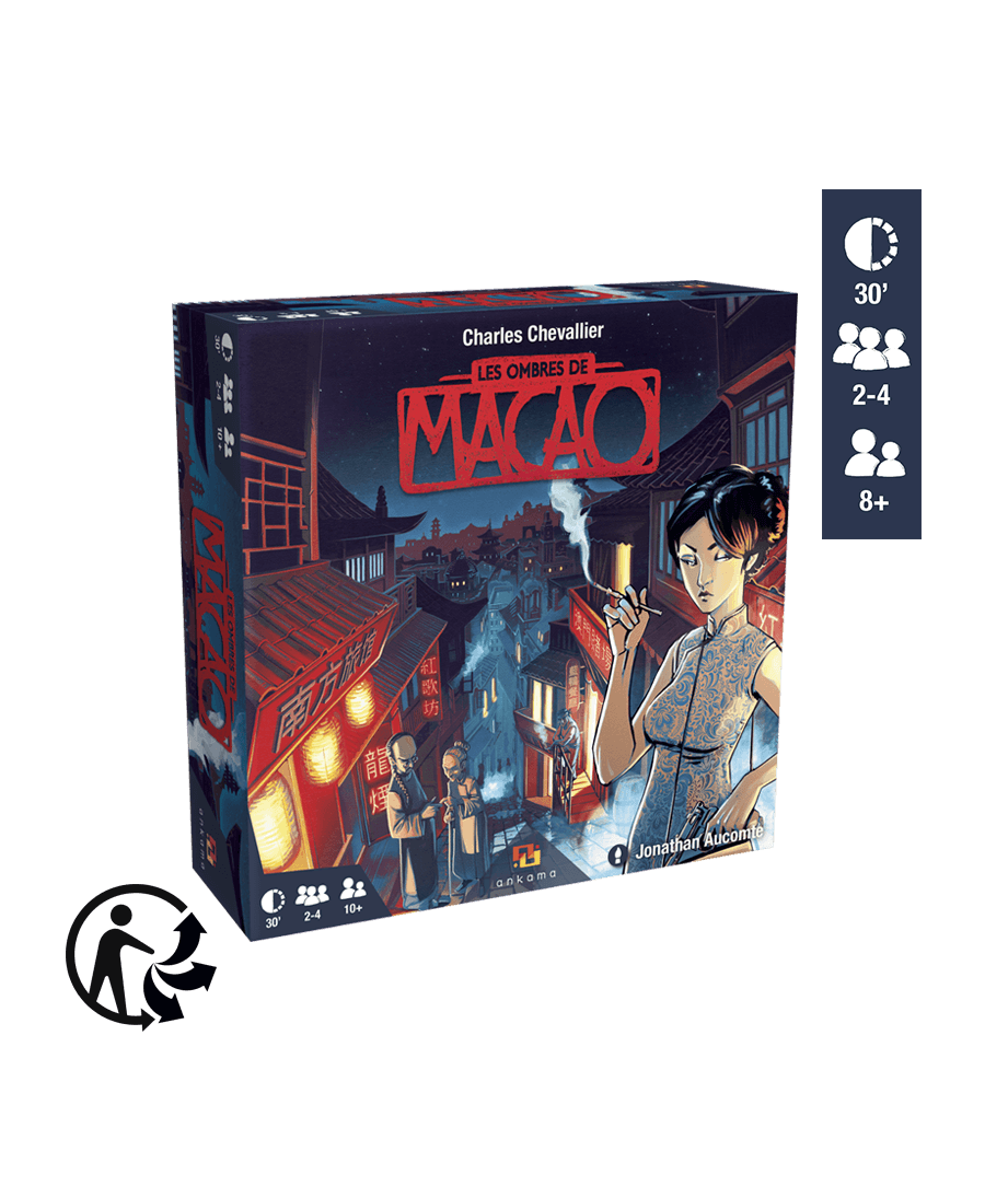 Les Ombres de Macao (VF) | Boutique Starplayer  | Jeu de Société
