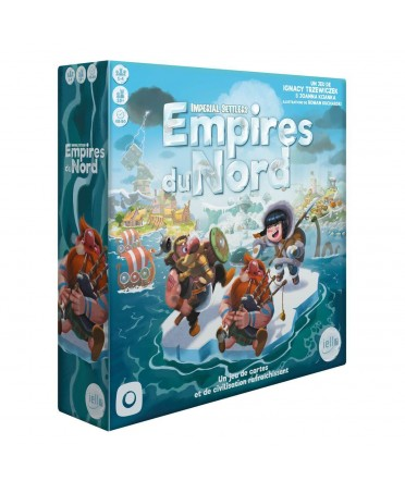 Imperial Settlers : Empires du Nord (VF - 2019) | Boutique Starplayer | Jeu de Société