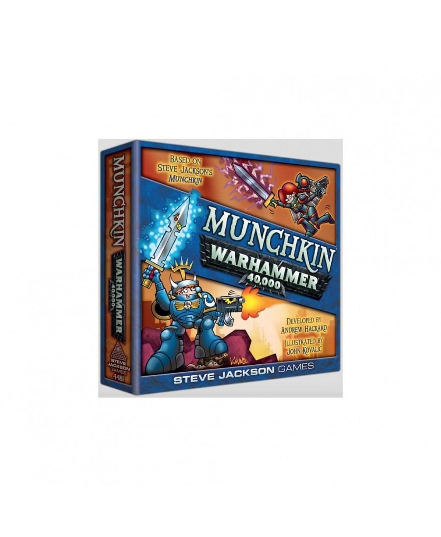 Munchkin : Édition Warhammer 40 000 | Boutique Starplayer | Jeu de Société