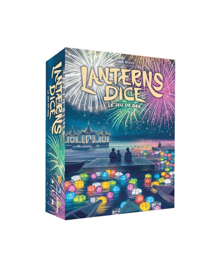 Lanterns Dice (VF) | Boutique Starplayer | Jeu de Société