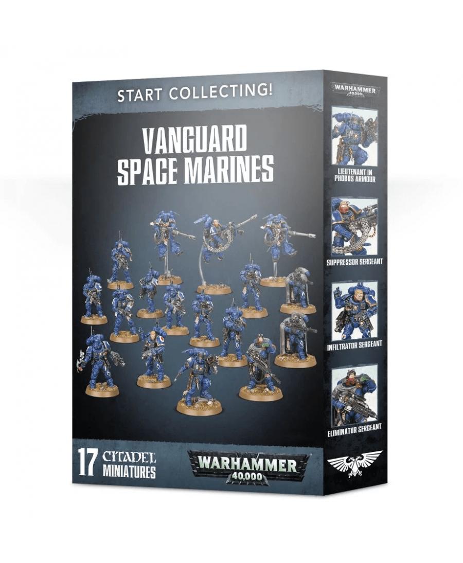 Start Collecting! : Vanguard Space Marines | Boutique Starplayer | Jeu de Figurines