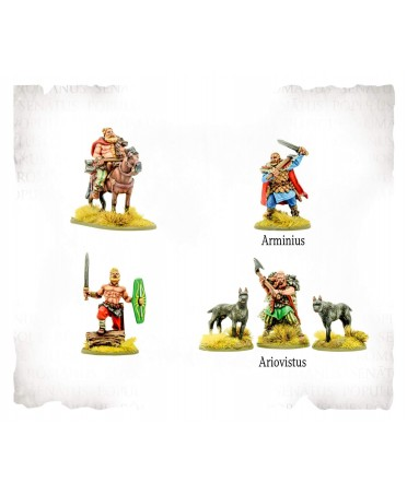 SPQR : Germania - Heroes (2019) | Boutique Starplayer | Jeu de Figurines