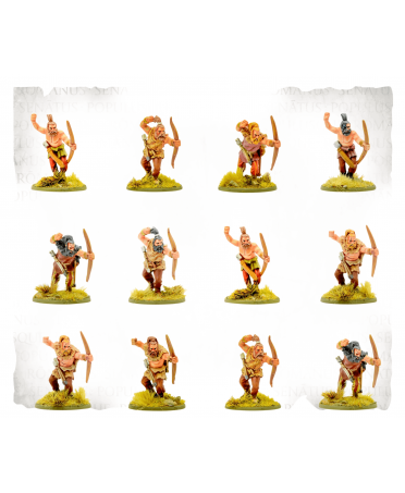 SPQR : Germania - Tribesmen Archers | Boutique Starplayer | Jeu de Figurines