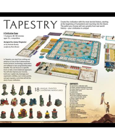 Tapestry (2019 - VF) | Boutique Starplayer | Jeu de Société