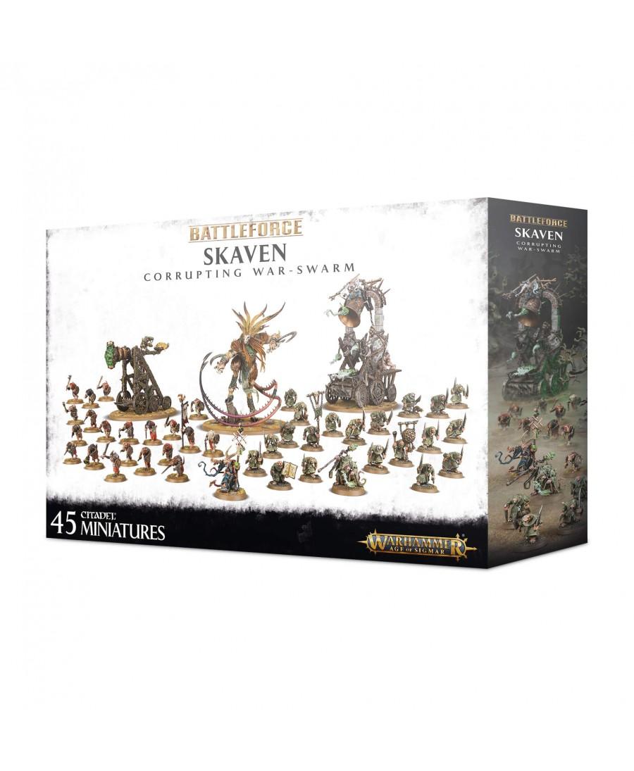 Skaven : Battleforce - Corrupting War-Swarm | Boutique Starplayer | Jeu de Figurines