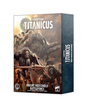 Adeptus Titanicus : Battleforce Knight Household | Boutique Starplayer | Jeu de Figurines