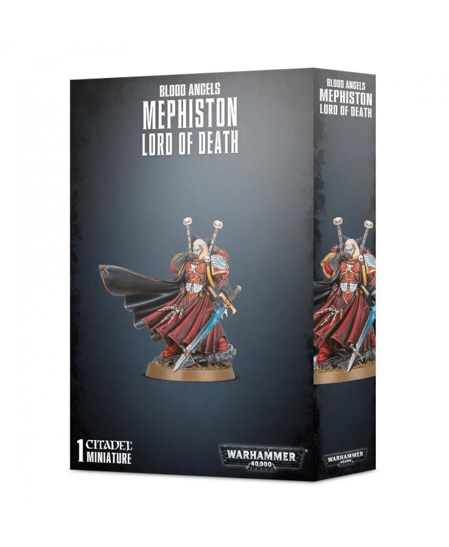 Blood Angels : Mephiston, Lord of Death (2019)   Boutique Starplayer   Jeu de Figurines
