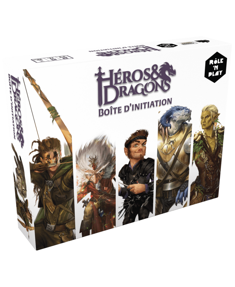 Héros & Dragons : Boîte d'Initiation Rôle 'N Play | Starplayer | Jeu de Rôle