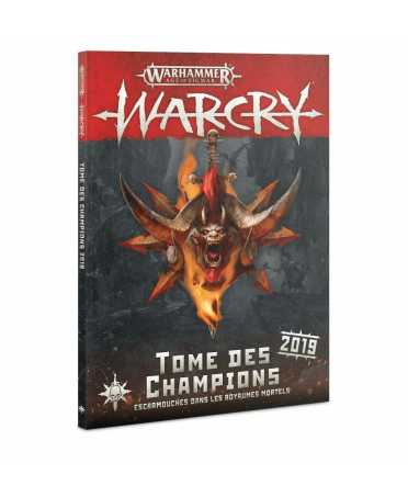 Warcry : Tome des Champions (VF - 2019) | Boutique Starplayer | Jeu de Figurines