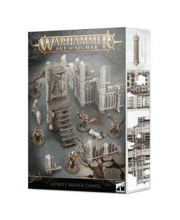Warhammer Age Of Sigmar : Azyrite Ruined Chapel | Boutique Starplayer | Jeu de Figurines