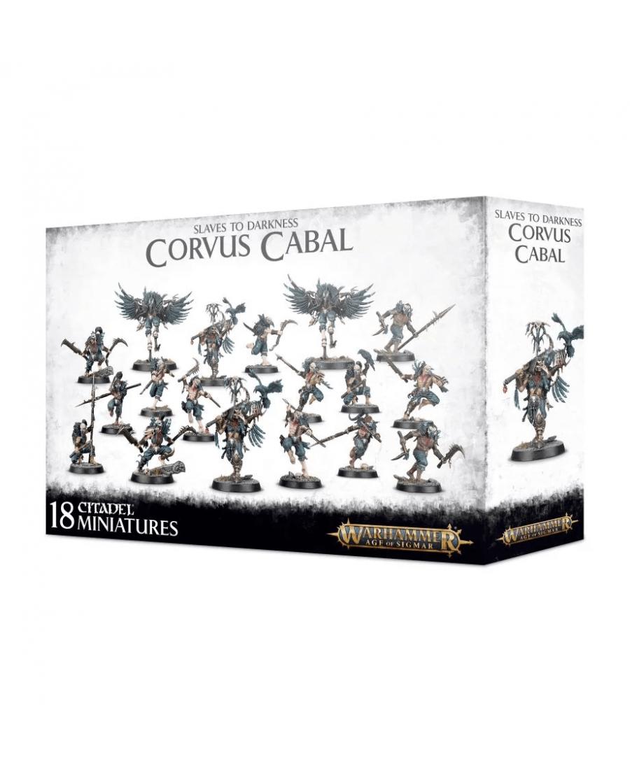 Slaves to Darkness : Corvus Cabal (VF - 2019) | Boutique Starplayer | Jeu de Figurines