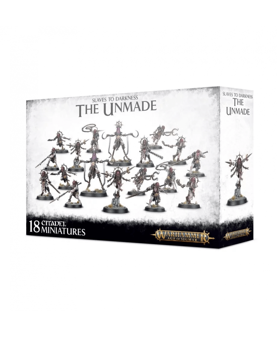 Slaves to Darkness : The Unmade (VF - 2019)   Boutique Starplayer   Jeu de Figurines