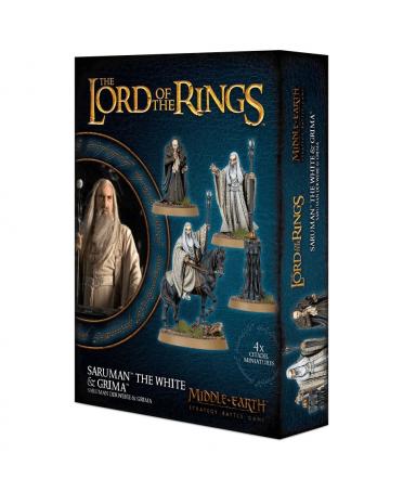 Middle-Earth Strategy Battle Game : Saruman the White & Gríma   Boutique Starplayer   Jeu de Figurines