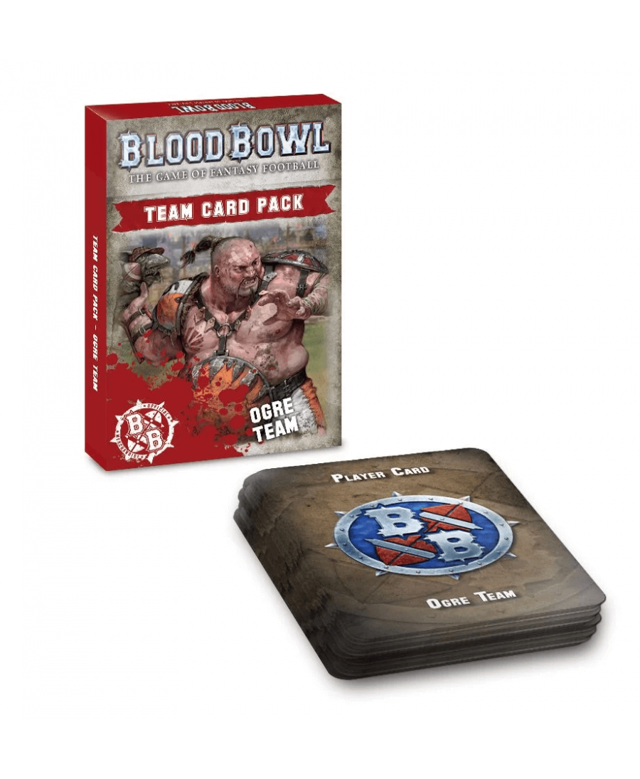 Blood Bowl : Ogre Team Card Pack  (VO - 2019) | Boutique Starplayer | Jeu de Figurines