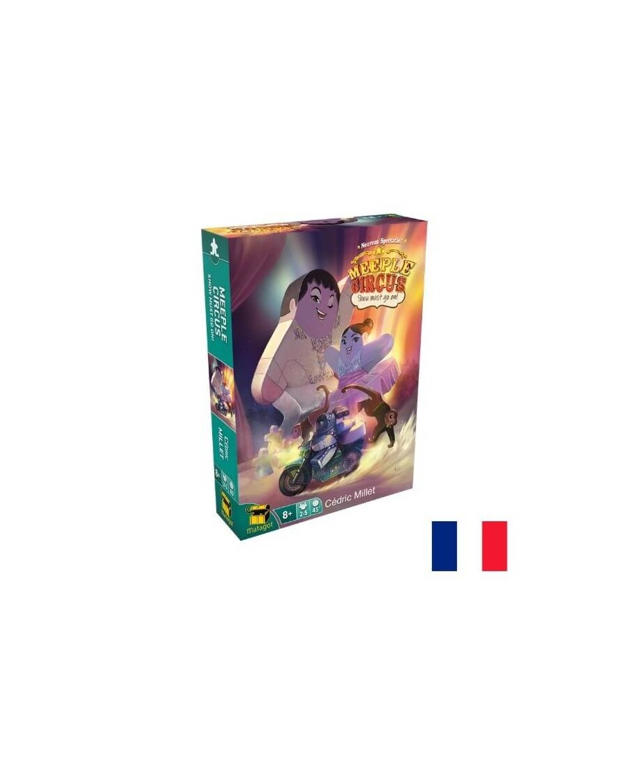 Meeple Circus : The show must go on (Ext 2) | Boutique Starplayer | Jeu de Société