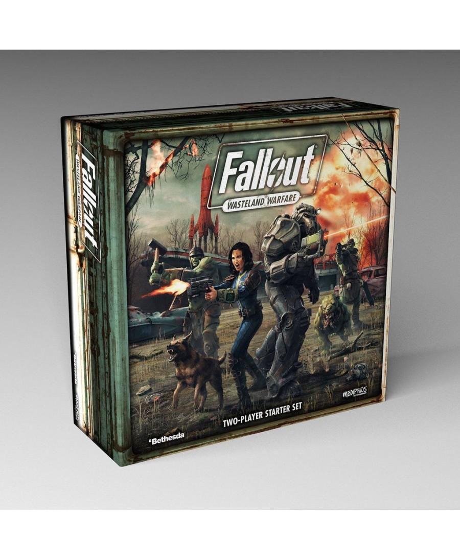 Fallout Wasteland Warfare : 2 Player Starter Set   Boutique Starplayer   Jeu de Plateau