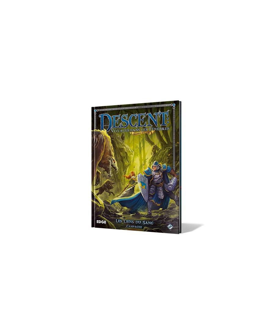Descent 2nd Ed. Les Liens du Sang - Voyages dans ténèbres