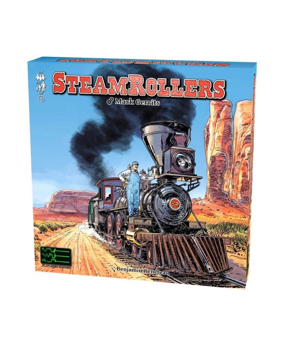 SteamRollers (VF)   Boutique Starplayer   Jeu de Société