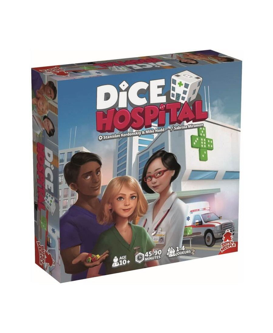 Dice Hospital (VF - 2019) | Boutique Starplayer | Jeu de Société