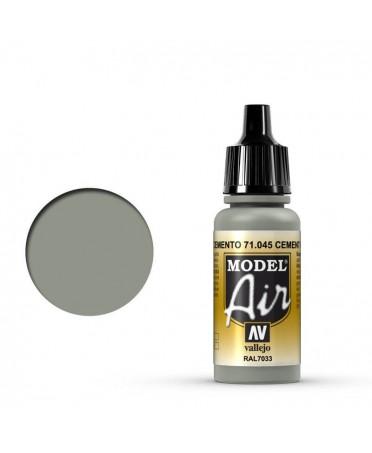 Vallejo Model Air : Gris Ciment | Boutique Starplayer | Peinture & Modélisme