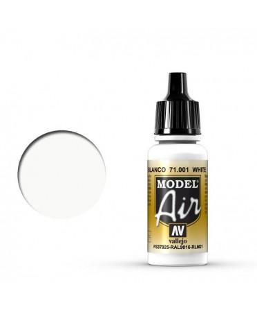 Vallejo Model Air : Blanc | Boutique Starplayer | Peinture & Modélisme