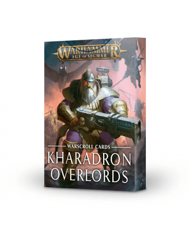 Warscroll Cards : Kharadron Overlords | Boutique Starplayer | Jeu de Figurines