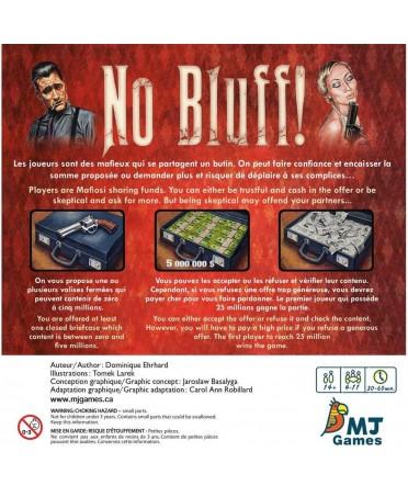 No Bluff ! (FR/EN - 2020) | Boutique Starplayer | Jeu de Société