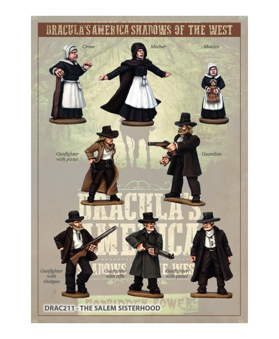 Dracula's America : La Sororité de Salem (VO) | Boutique Starplayer | Jeu de Figurines