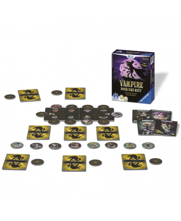 Vampire pour une Nuit | Boutique Starplayer | Jeu de Société