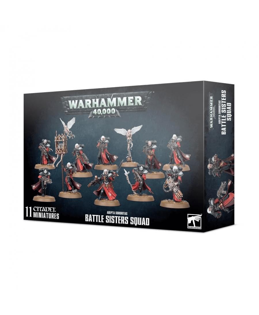 Adepta Sororitas : Battle Sisters Squad | Boutique Starplayer | Jeu de Figurines