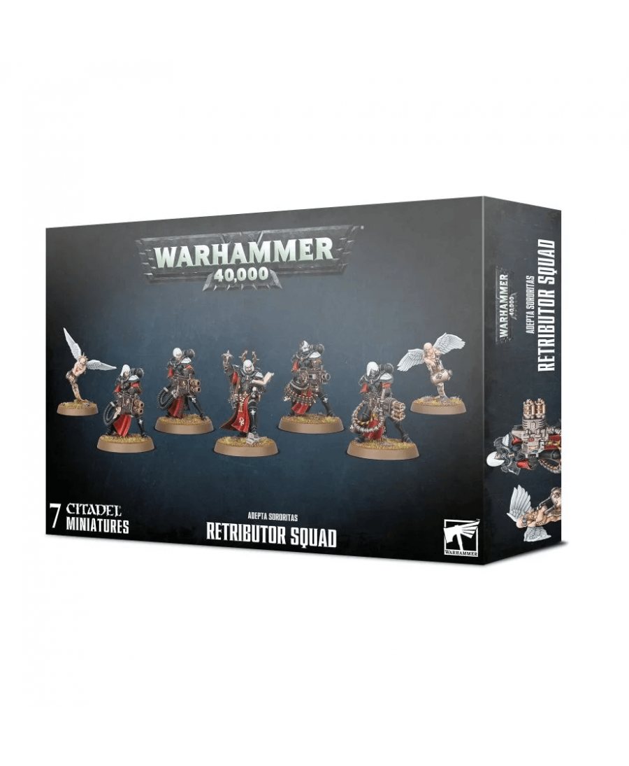 Adepta Sororitas : Retributor Squad | Boutique Starplayer | Jeu de Figurines