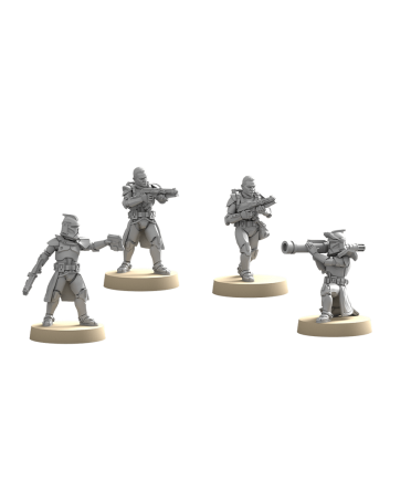 Star Wars Légion : Soldats Clones de Phase 1 | Boutique Starplayer | Jeu de Figurines