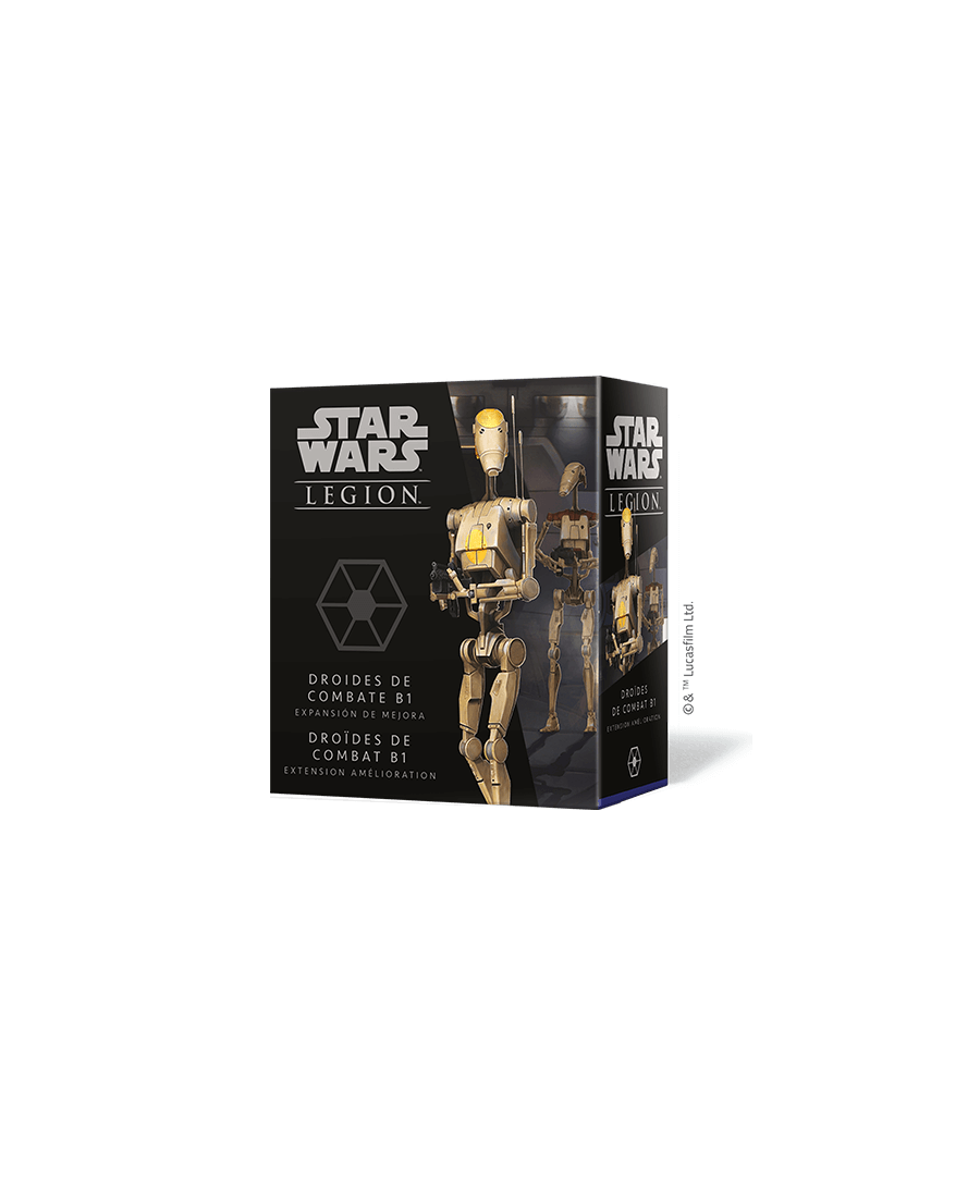 Star Wars Légion : Droïdes de Combat B1 | Boutique Starplayer | Jeu de Figurines