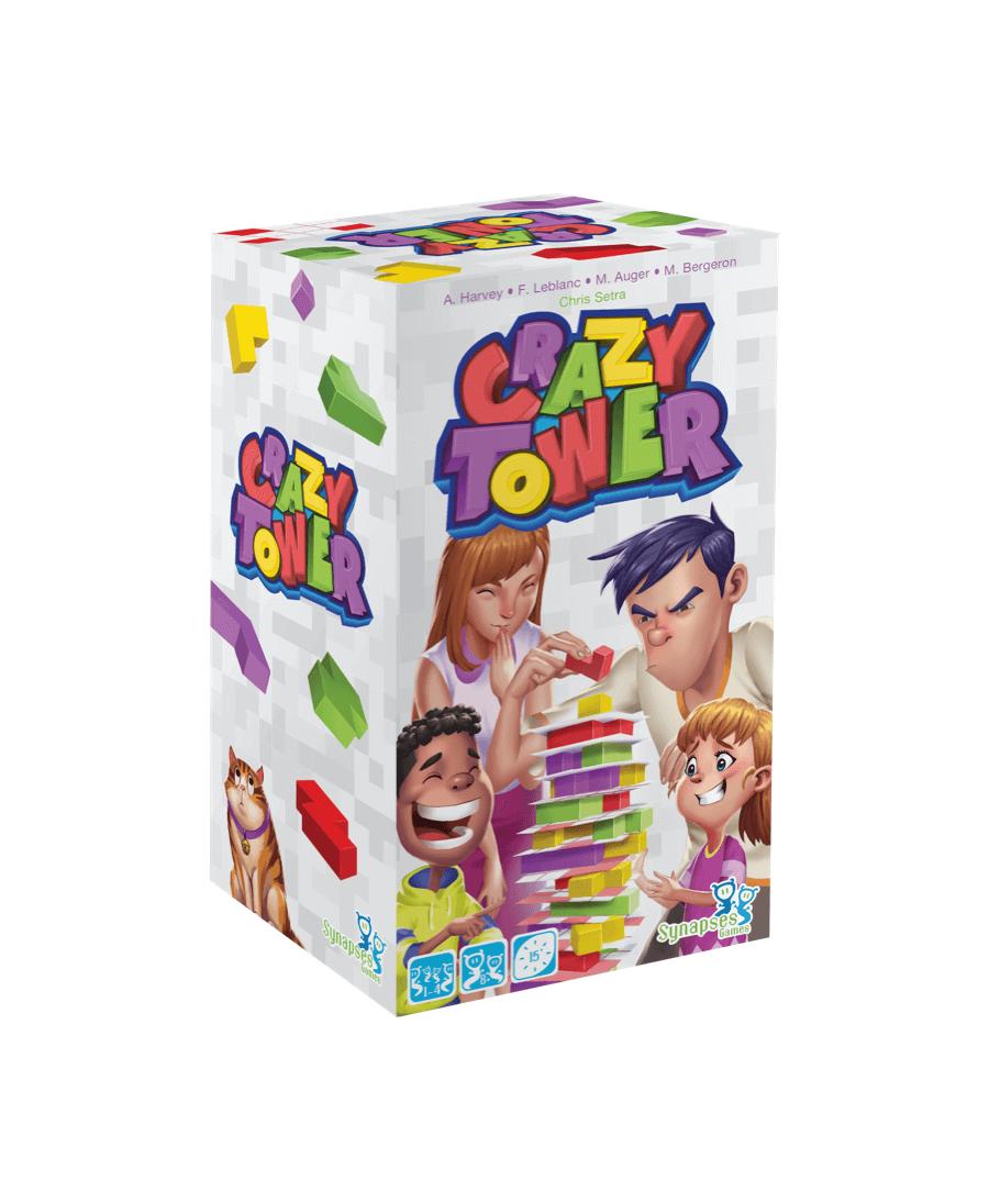 Crazy Tower (ML - 2020) | Boutique Starplayer | Jeu de Société