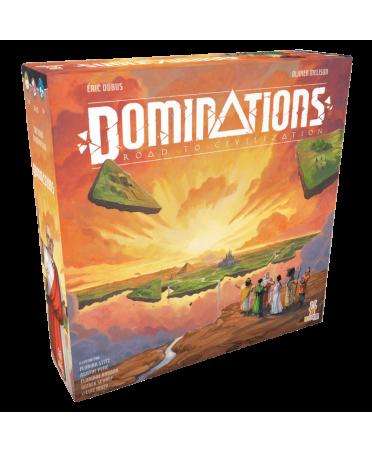 Dominations : Road to Civilization (VF) | Boutique Starplayer | Jeu de Plateau