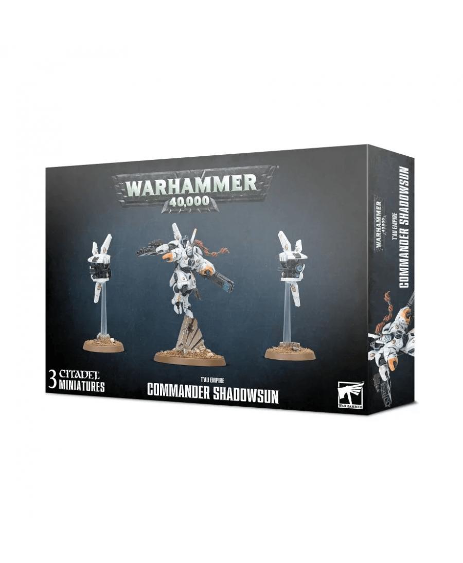 Empire T'au : Commander Shadowsun | Boutique Starplayer | Jeu de Figurines