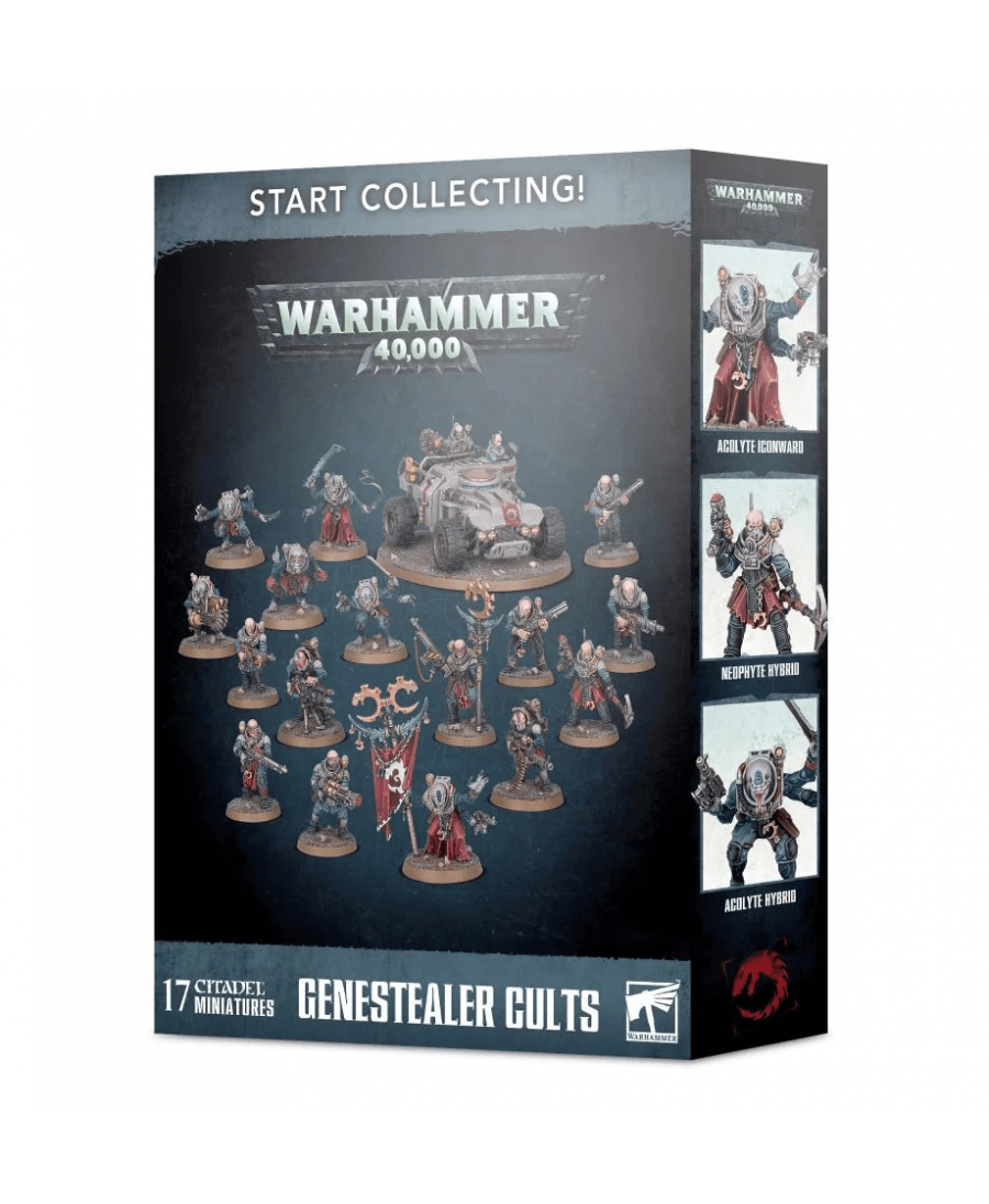 Start Collecting! : Genestealer Cults | Boutique Starplayer | Jeu de Figurines