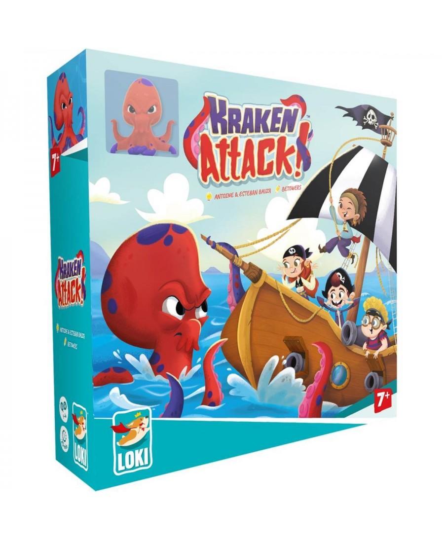 Kraken Attack (VF - 2020) | Boutique Starplayer | Jeu de Société