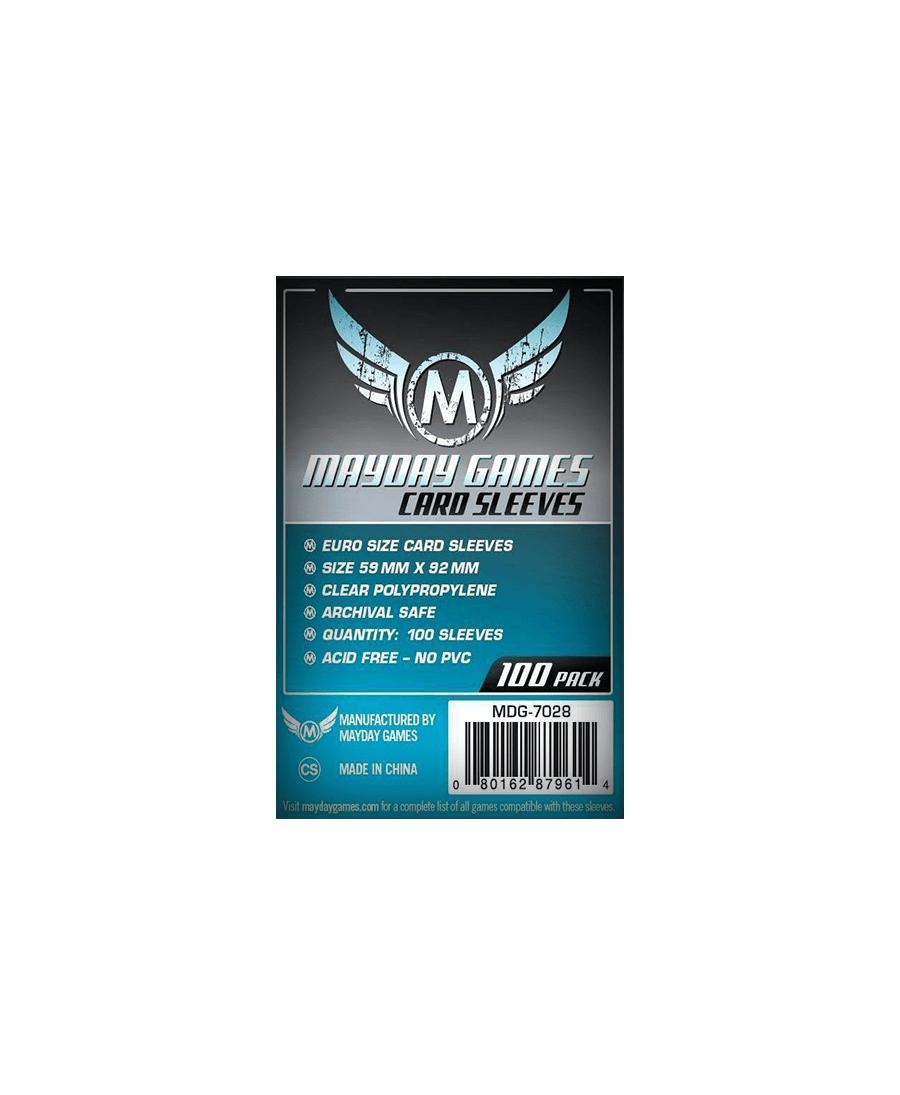 Protège Cartes - Mayday Games : EU Standard x100 (59x92mm)| Starplayer | Accessoires