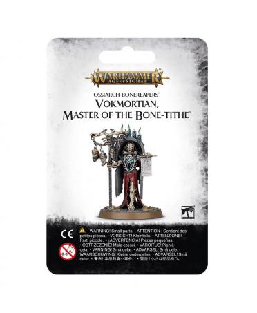 Ossiarch Bonereapers : Vokmortian, Maître de la Dîme d'Os   Starplayer   Jeu de Figurines