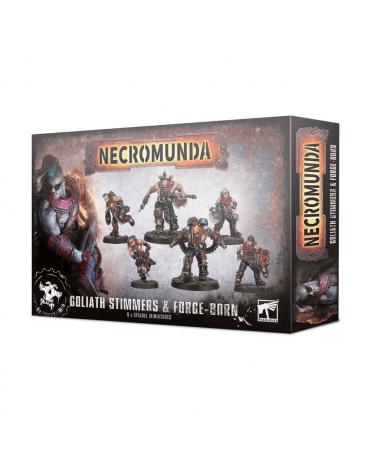 Necromunda : Goliath Stimmers et Forge-born | Boutique Starplayer | Jeu de Figurines