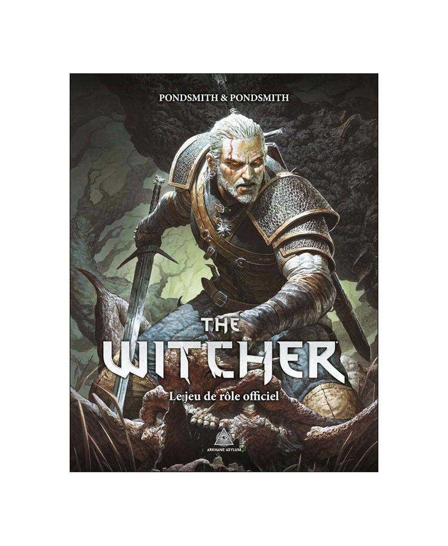 Jeu de Rôle - The Witcher - Livre de base ( VF) | Boutique Starplayer