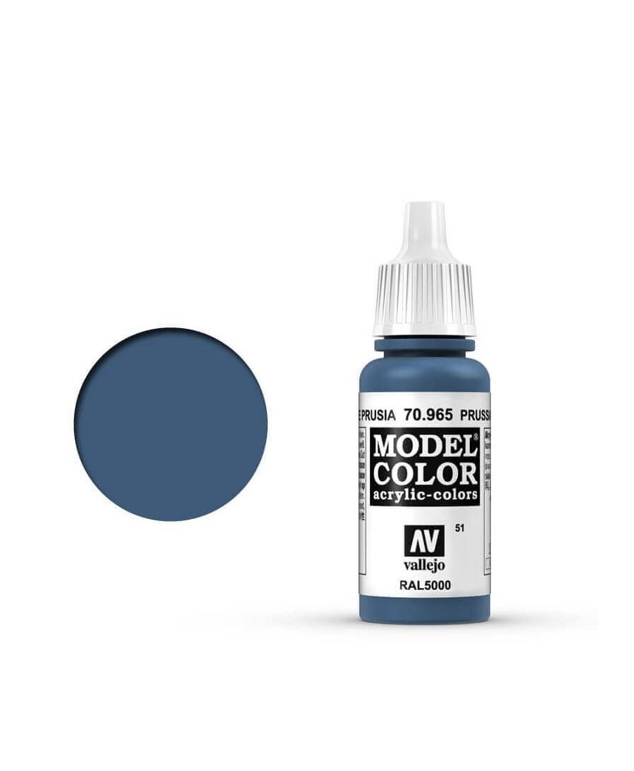 Vallejo Model Color : Bleu de Prusse   Boutique Starplayer   Peinture & Modélisme