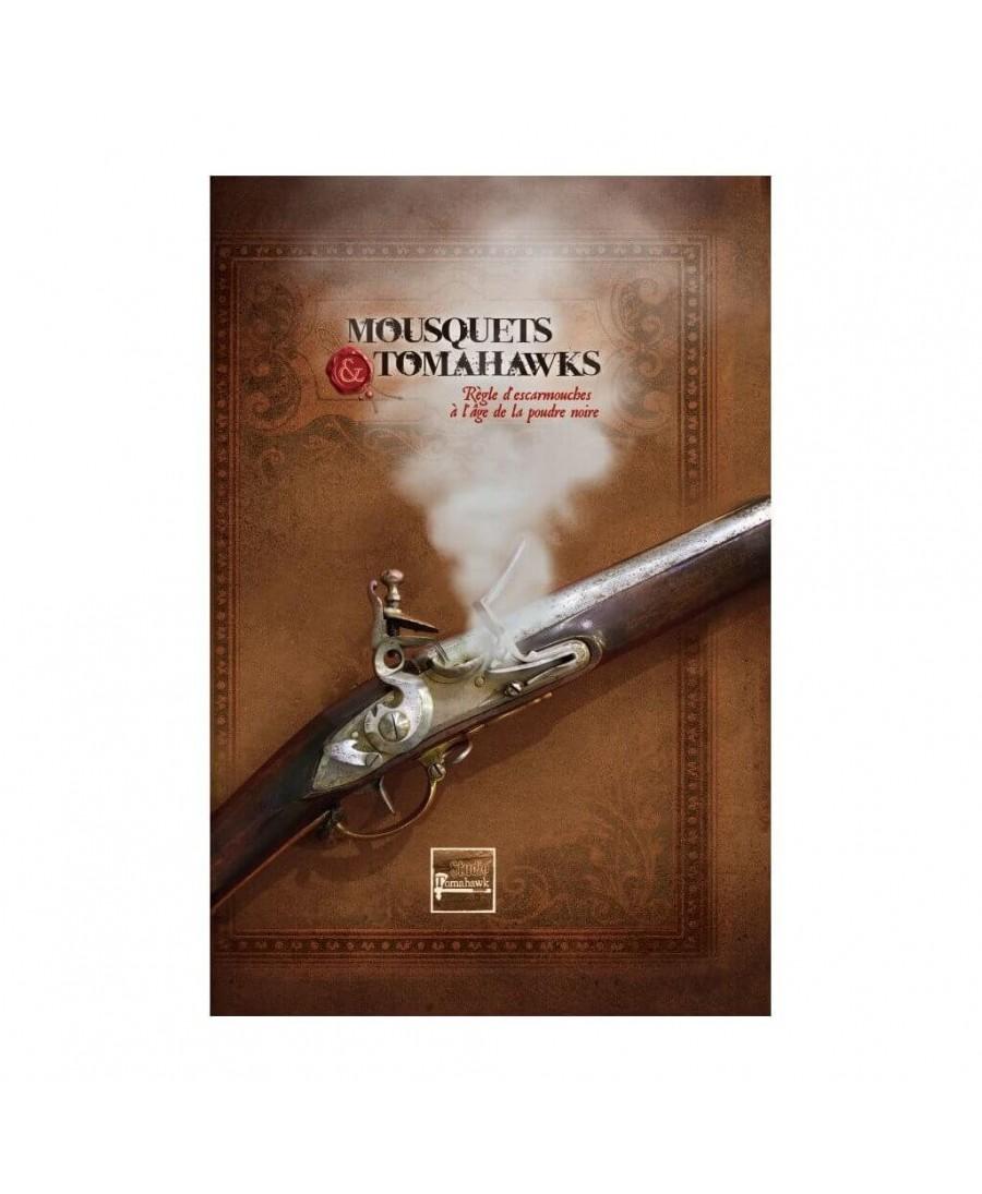 Mousquets & Tomahawks : Livre de Règles | Boutique Starplayer | Jeu de Figurines