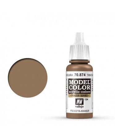 Vallejo Model Color : Terre Foncée | Boutique Starplayer | Peinture & Modélisme