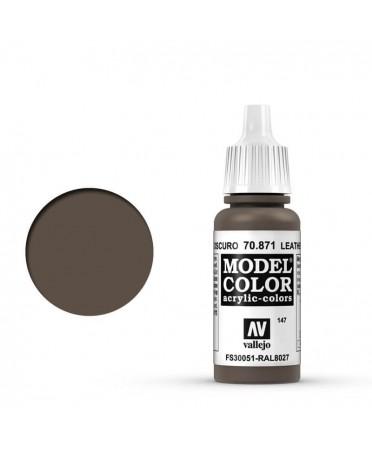 Vallejo Model Color : Marron Cuir Foncé | Boutique Starplayer | Peinture & Modélisme