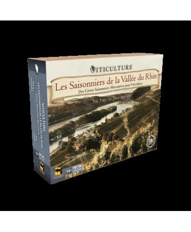 Viticulture : Les Saisonniers de la Vallée du Rhin | Boutique Starplayer | Jeu de Société